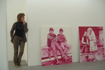 Mie Lefever, proprietara unei galerii din Belgia, vorbeste despre potentialul artistilor romani