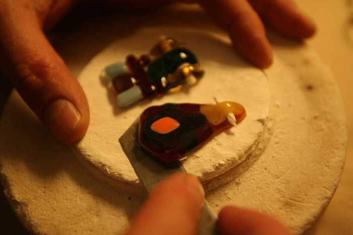 Arta sticlarilor in cuptorul cu microunde