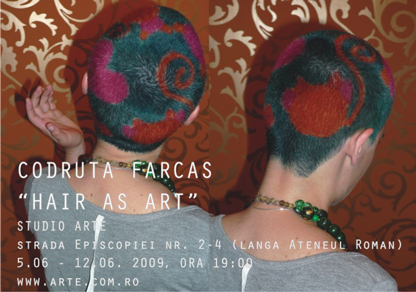 """Hair as Art"" by Codruta Farcas"