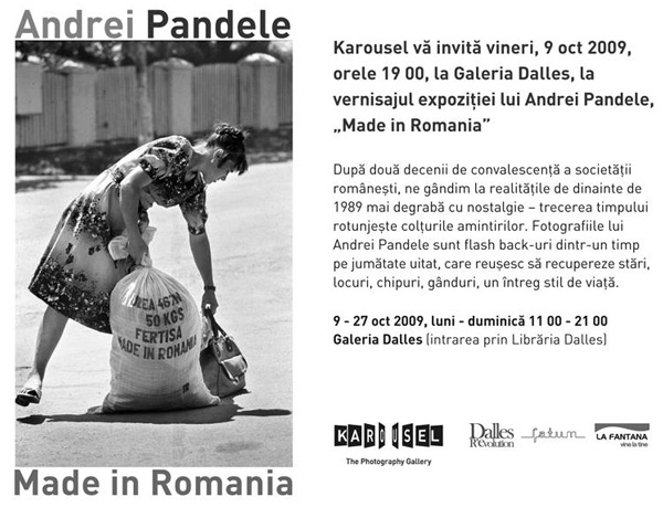 """Made in Romania"", Andrei Pandele"