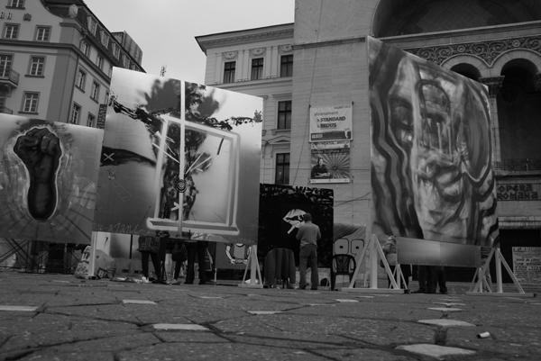"""""""libertARTE"""" – streetart, Timisoara"""