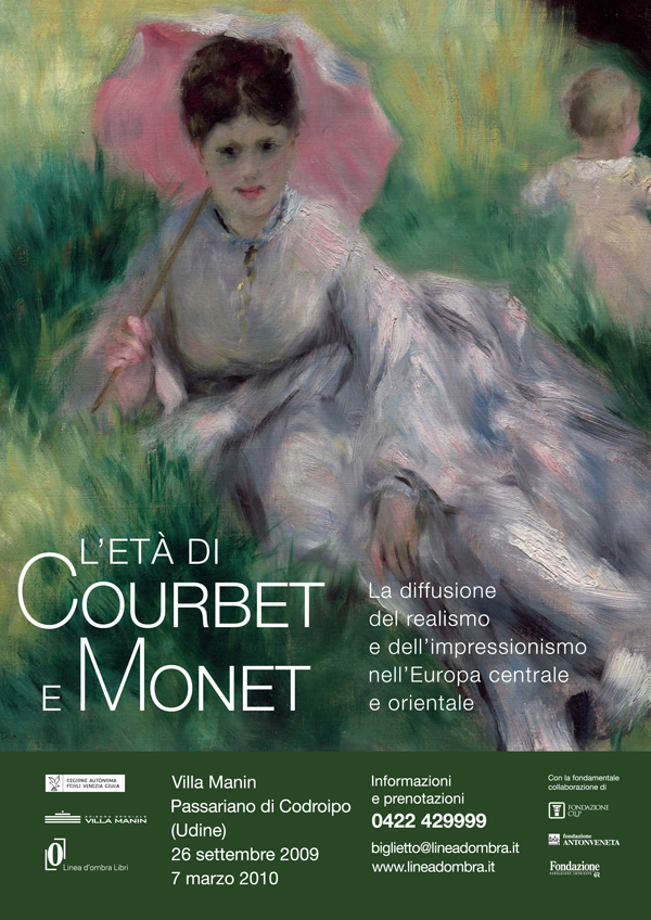 """Theodor Aman,Nicolae Grigorescu siIoan Andreescu in """"Secolul Courbet-Monet. De la Realism la Impresionism in cultura est si vest europeana"""" @ Villa Manin, Italia"""