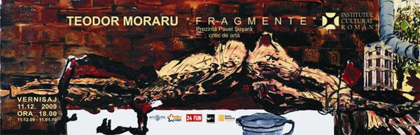 Expoziţie de pictură Teodor Moraru la Institutul Cultural Român