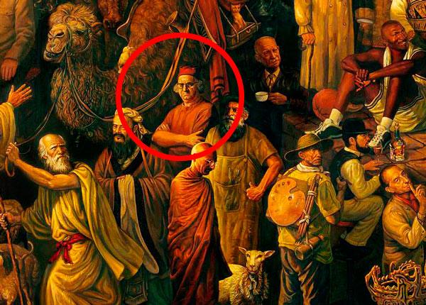 Un ciudat chinez care l-a pictat pe Corneliu Baba