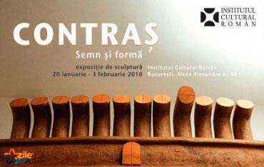 """""""Semn şi formă"""" – expoziţie de sculptură Aurel Contraş"""