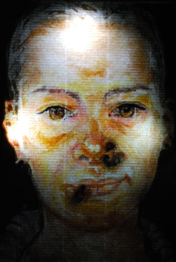 Radiography Of A Portrait
