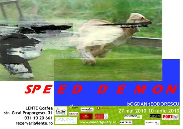 Bogdan Teodorescu, Speed Demon @  Lente Café
