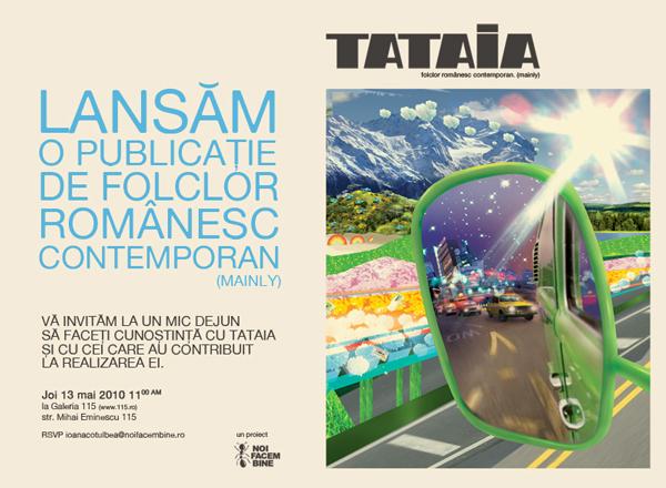 Tataia – folclor românesc contemporan (mainly)