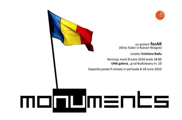 MOnuMENTS – un proiect al grupului focAR Alina Tudor & Razvan Neagoe