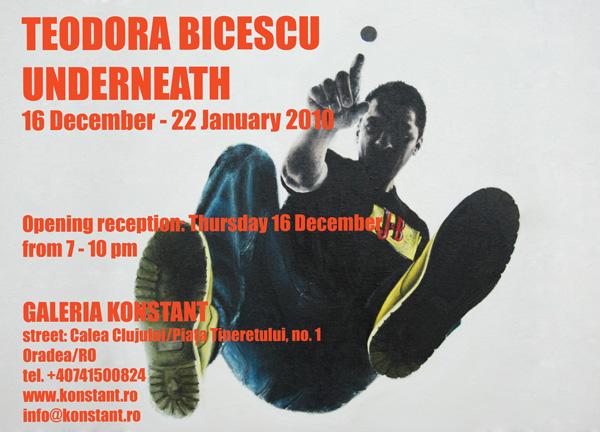 Teodora Bicescu, Underneath @ Galeria Konstant, Oradea