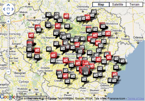 Harta Fotografilor din România