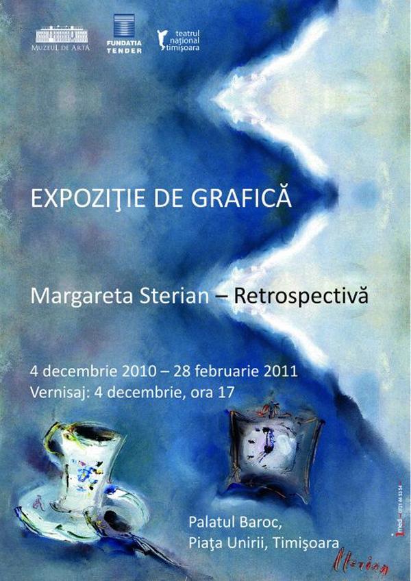 Retrospectivă Margareta Sterian la Muzeul de Artă Timișoara