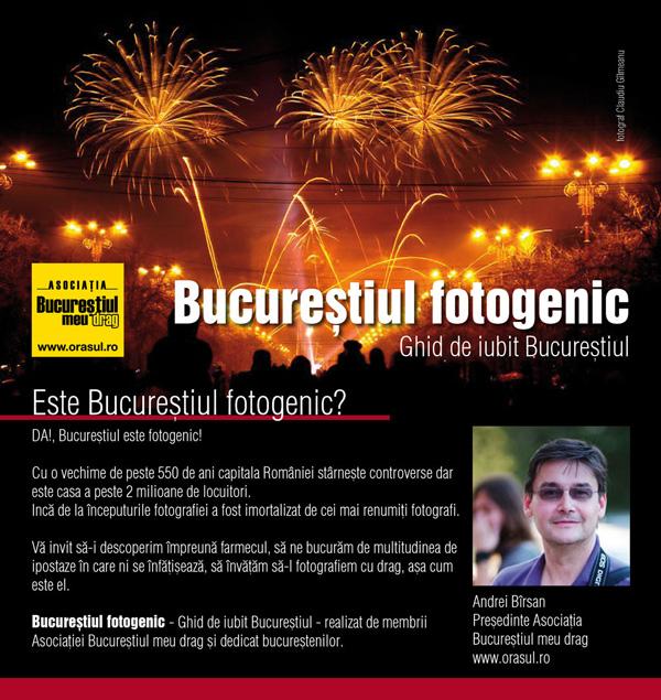 Bucureștiul fotogenic – Ghid de iubit Bucureștiul