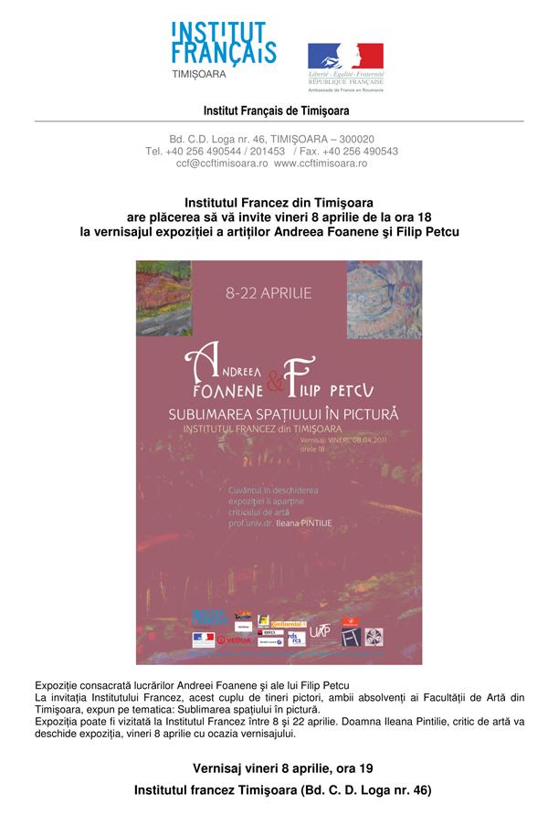 Andreea Foanene și Filip Petcu – Sublimarea spaţiului în pictură
