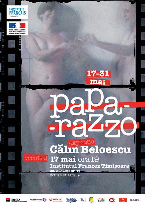 """Călin Beloescu, """"Paparazzo"""" @ Institutul francez din Timişoara"""