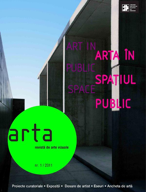 A apărut revista Arta, 1/2011