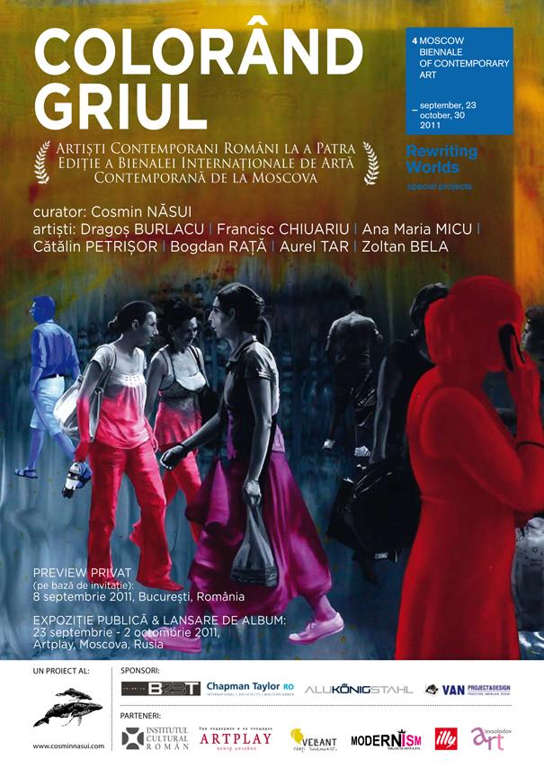 Colorând griul – Al doilea val de artiști contemporani emergenți români la Bienala de Artă Contemporană de la Moscova