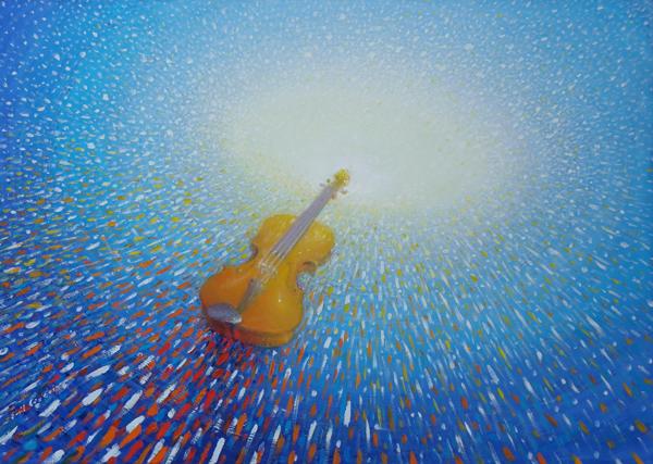 """Emil Ciocoiu, """"Muzica picturii"""" @ Galeria de arta GalAteCa"""