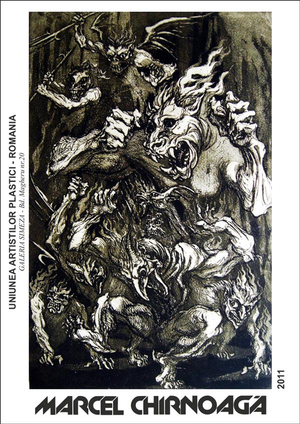 Expoziție omagială Marcel Chirnoagă @ Galeria Simeza