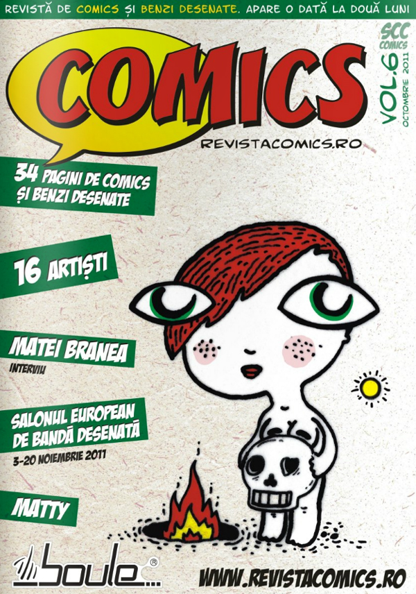 Lansare online Revista COMICS nr. 6 (octombrie 2011)