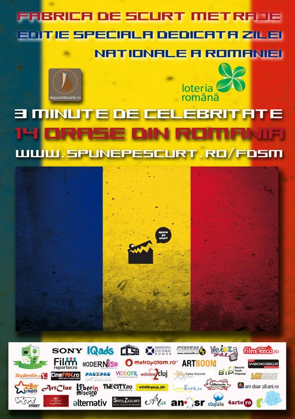 3 minute de celebritate pentru creativii români