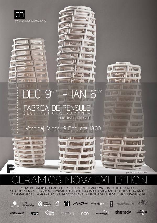 Ceramics Now Exhibition @ Fabrica de Pensule, Cluj-Napoca