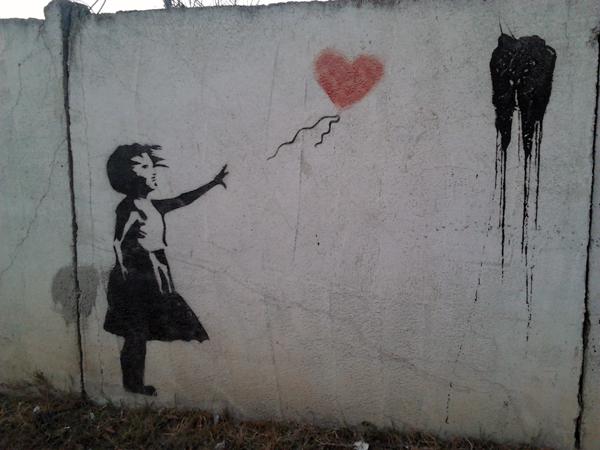 Banksy de Bacău