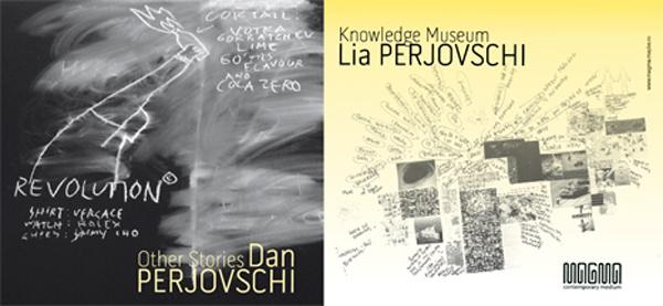 Lia și Dan Perjovschi @ Spațiul Expozițional de Artă Contemporană MAGMA, Sf. Gheorghe