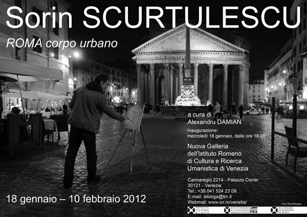 """Expoziţia de artă contemporană """"Roma, corp urban"""" în Noua Galerie a IRCCU Veneţia"""