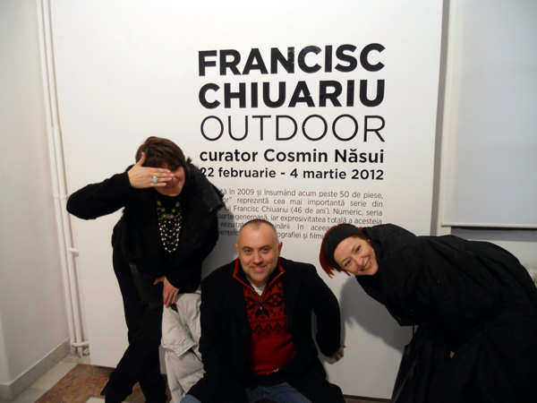 """Francisc Chiuariu, """"Outdoor"""" @ Centrul Cultural Palatele Brâncovenești Mogoșoaia"""