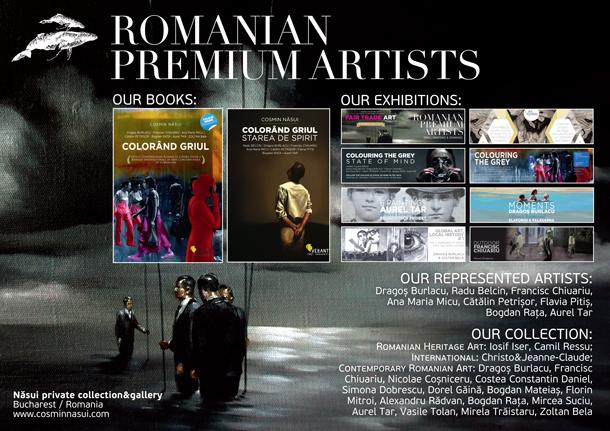 98 de lucrări de artă contemporană românească într-un an de zile