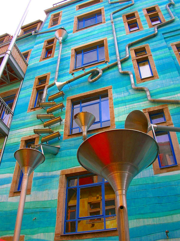A Wall That Plays Music When It Rains