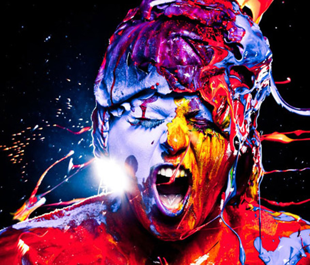 Sexy Color Splashing Photography by Gabriel Wickbold
