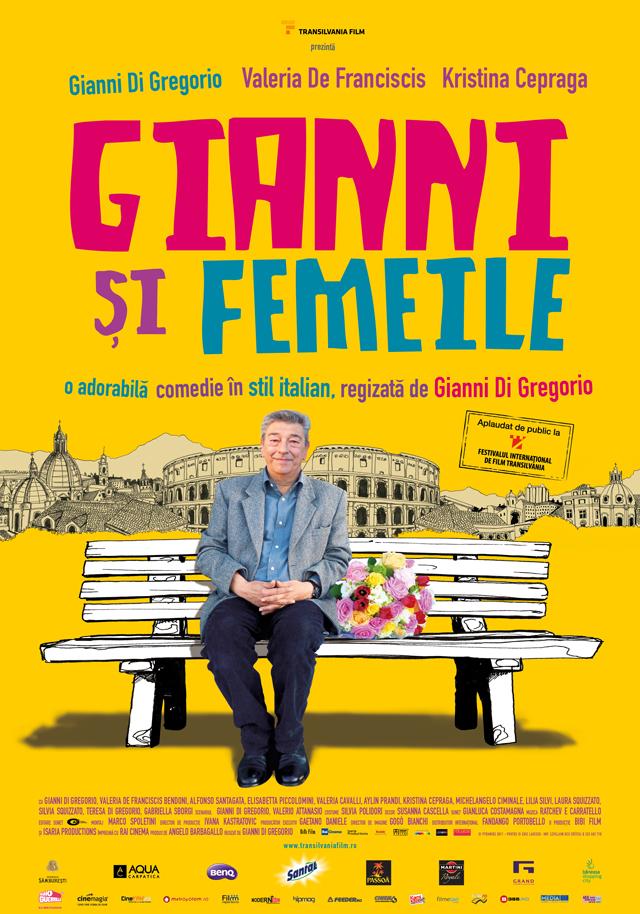 Comedie în stil italian cu Gianni Di Gregorio și Kristina Cepraga