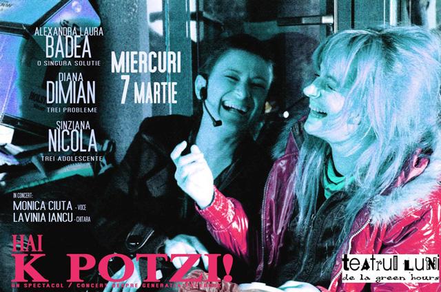 """""""Hai K Potzi!"""", un spectacol-concert despre generația Facebook"""