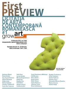 First PREVIEW - Licitația de artă contemporană GrowArt #1
