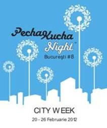PechaKucha Night București #8 la Conservator