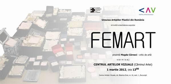 FEMART @ Centrul Artelor Vizuale