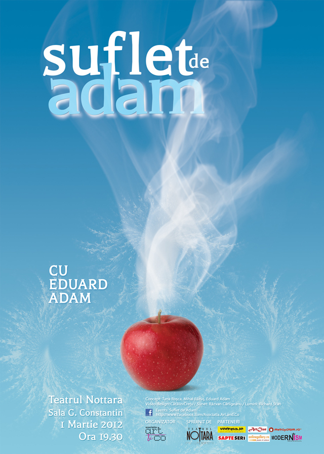 Spectacol pantomimă: Suflet de Adam @ Asociația Art&Co și Teatrul Nottara