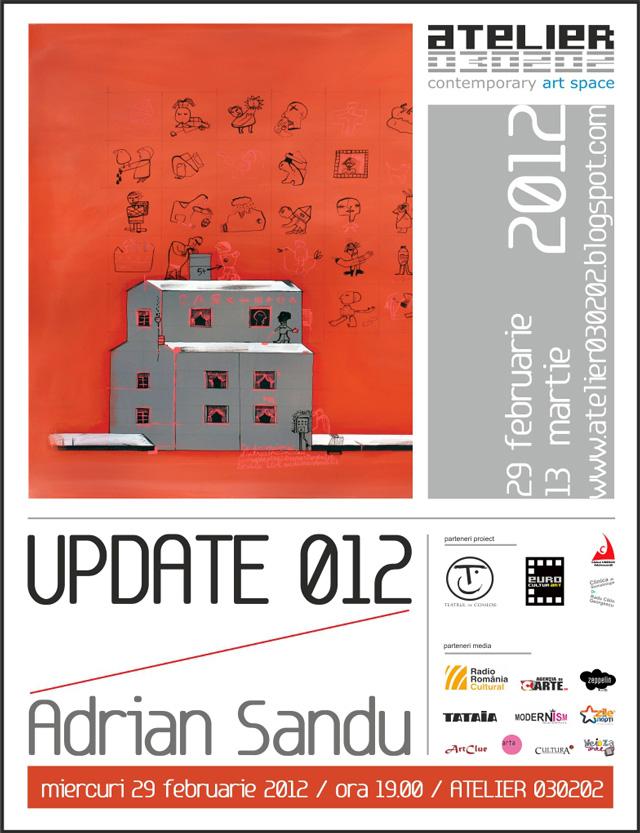 "Adrian Sandu, ""UPDATE 012"" @ ATELIER 030202"