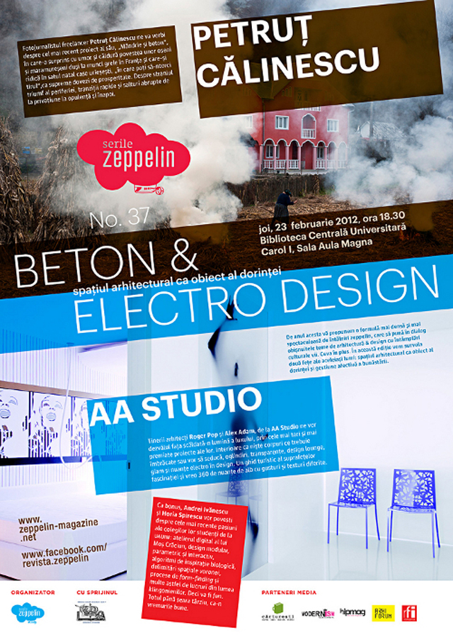 BETON & ELECTRO DESIGN @ Serile Zeppelin