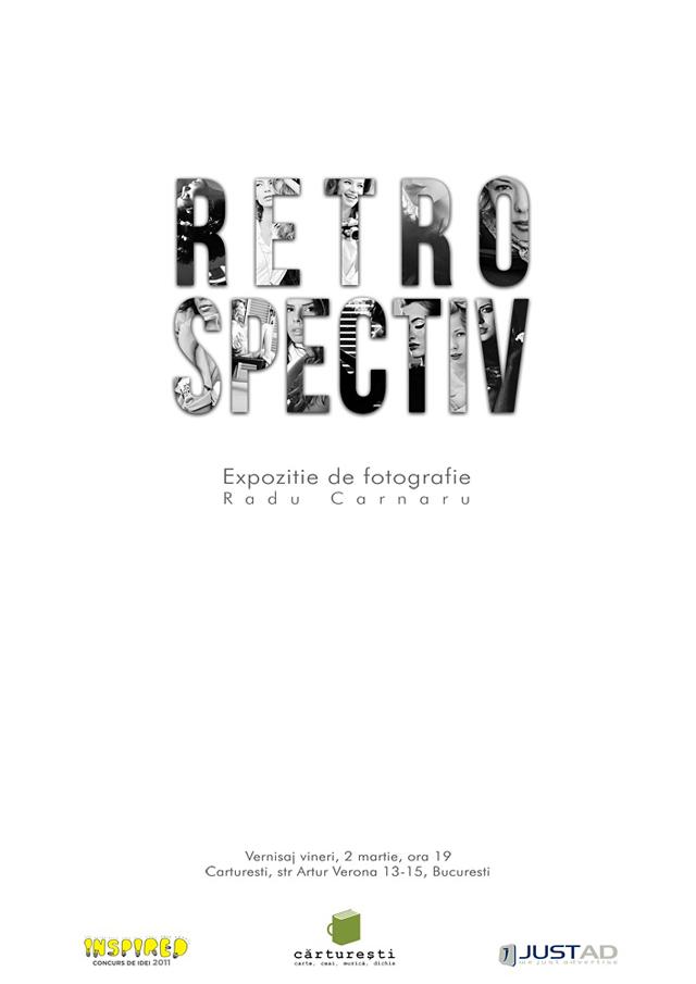 """Radu Carnaru, """"RETROSPECTIV"""", câștigătorul concursului Inspired – Photography 2011, locul II"""