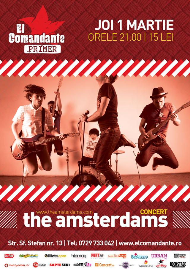 Concert The Amsterdams @ El Comandante Primer