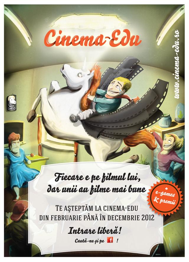Educație socială prin film. Cinema.edu se întoarce