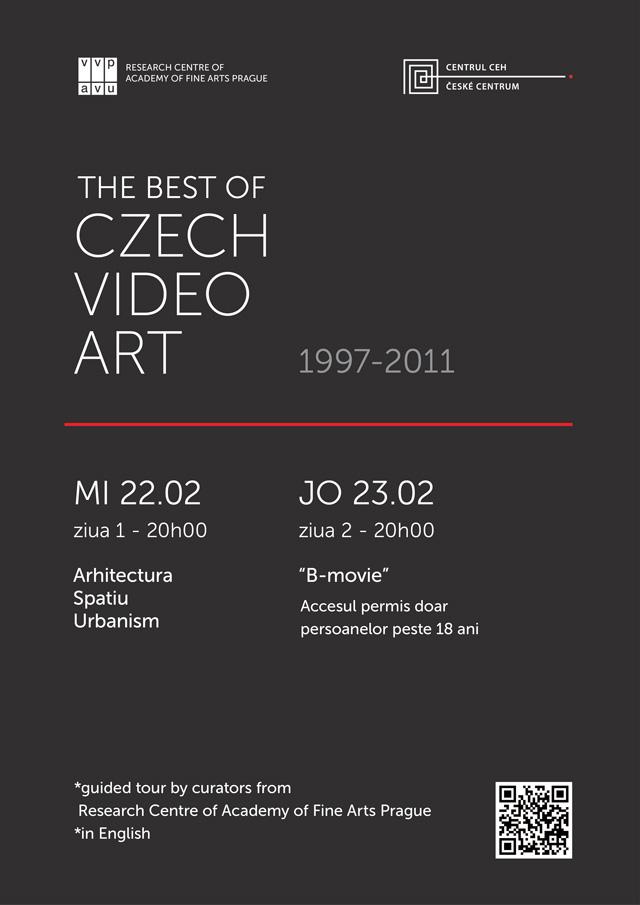 Arta video cehească o selecție a celor mai bune lucrări din 1997-2011