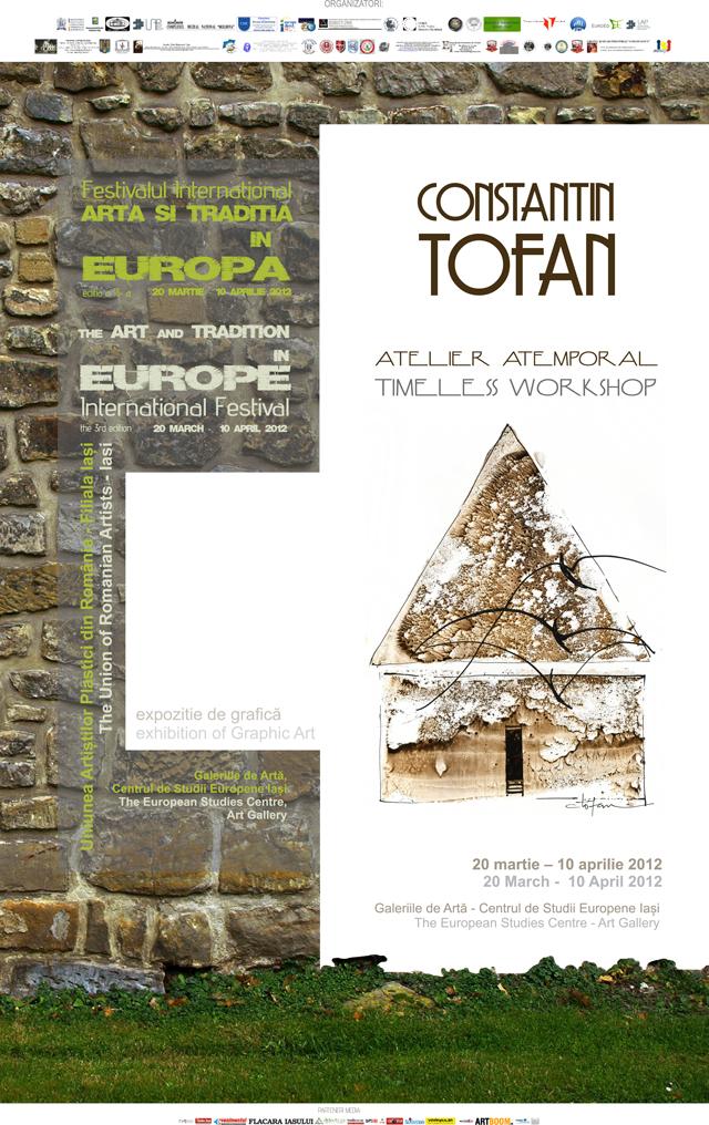 """Festivalul Internațional """"Arta Și Tradiția în Europa"""" @ Galeriile de Artă ale Centrului de Studii Europene Iași"""