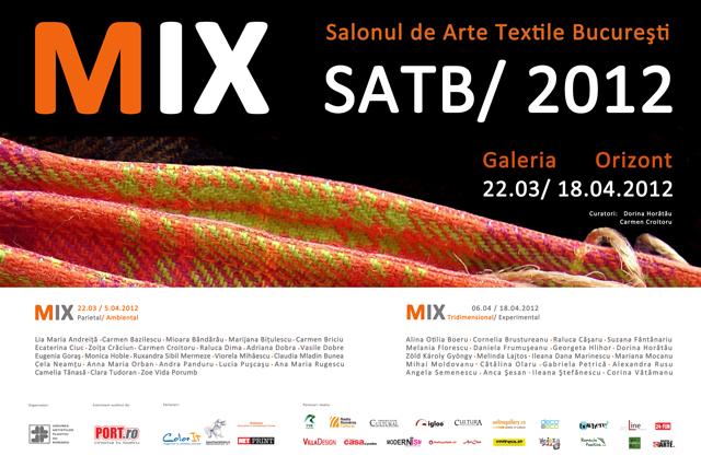 MIX Salonul de Arte Textile, Bucureşti, 2012