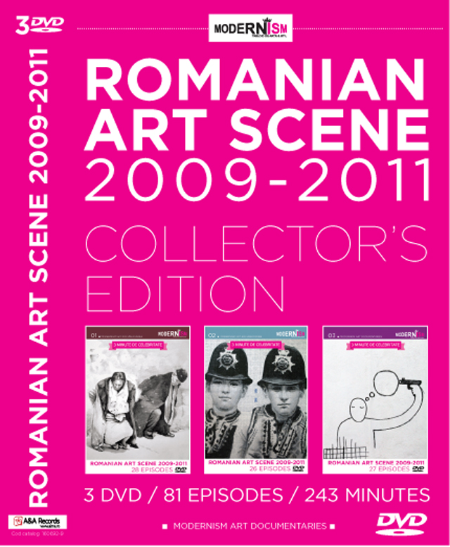 Creativii români difuzați în modernism art documentaries