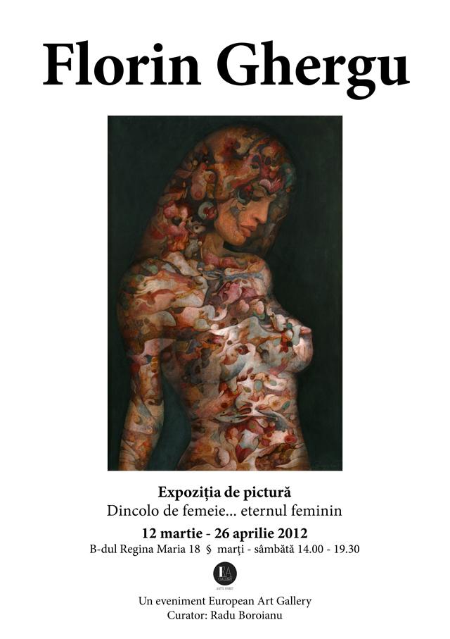 "Florin Ghergu, ""Dincolo de femeie….eternul feminin"" @ European Art Gallery"