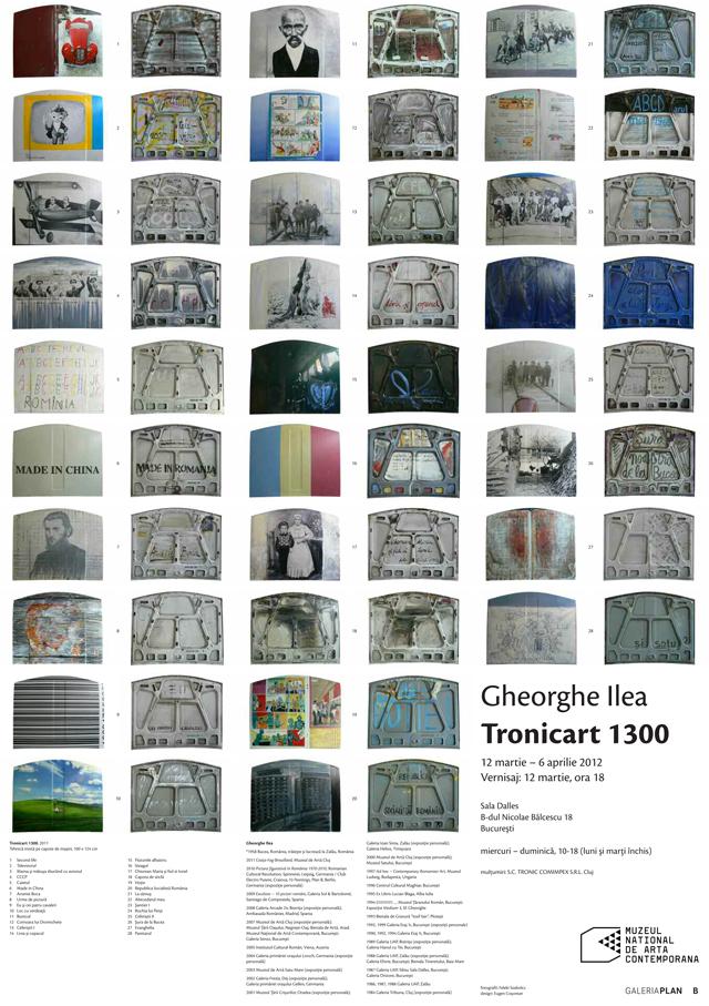 """Gheorghe Ilea """"Tronicart 1300"""" @ Sala Dalles, București"""